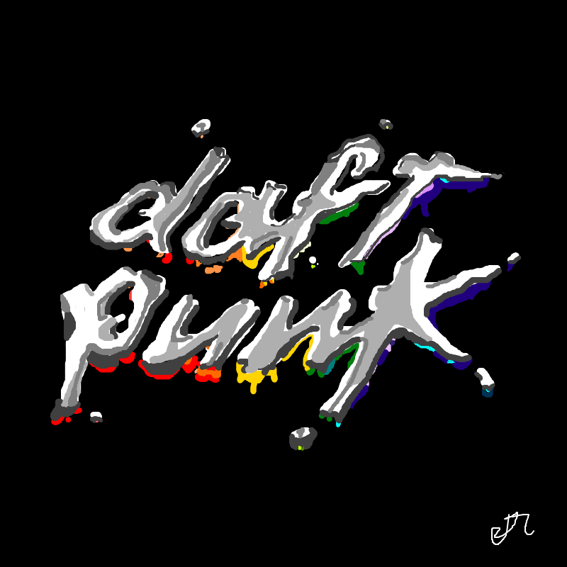 Daft Punk- Discovery Album Art REMAKE by ...