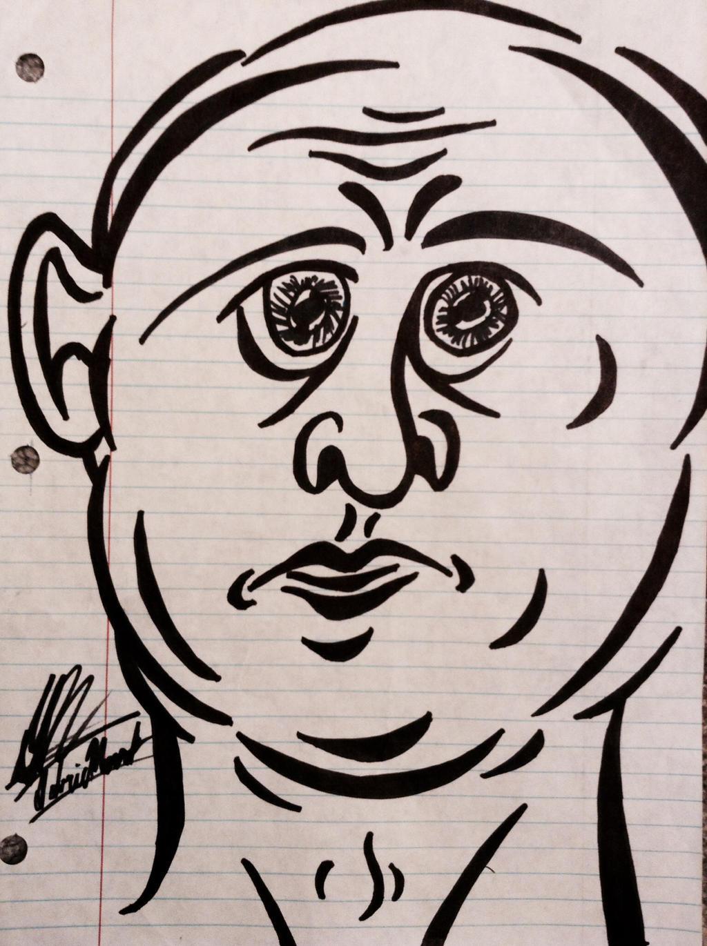 Crazy Face: Blanc by GabrielNovakStudios on deviantART