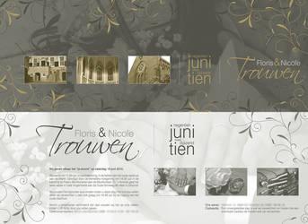 Wedding invitation by floriske