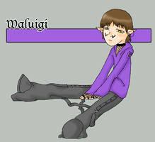 Waluigi by Bat-chan