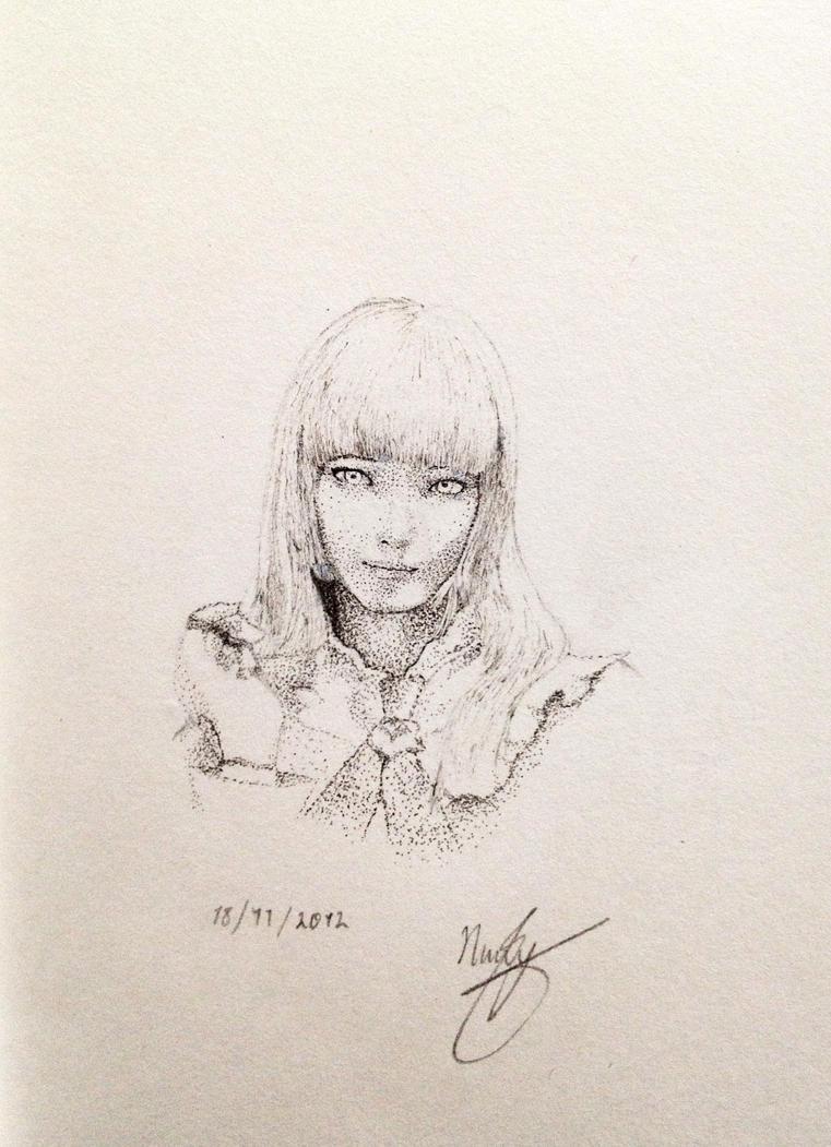 Lili Rochefort Tekken (Ink) by nickaydewitt