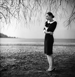 Alex near the water by psychiatrique