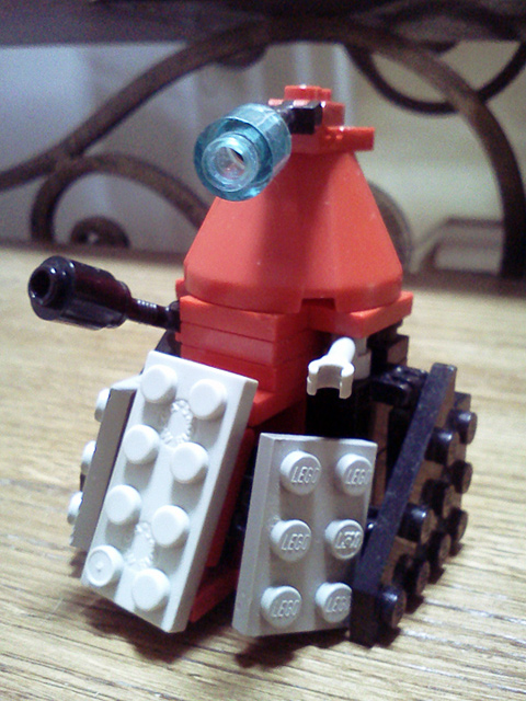Lego Dalek by psychiatrique