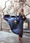Windy dress by psychiatrique