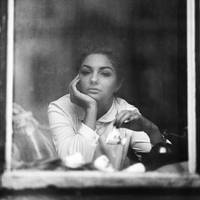 Natalia in window by psychiatrique