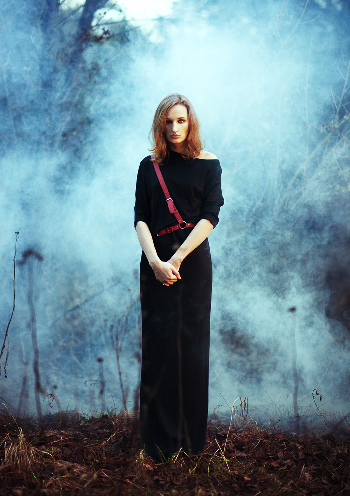 Sasha and fog by psychiatrique