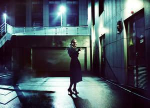 Night, Street, Lantern, Sasha...