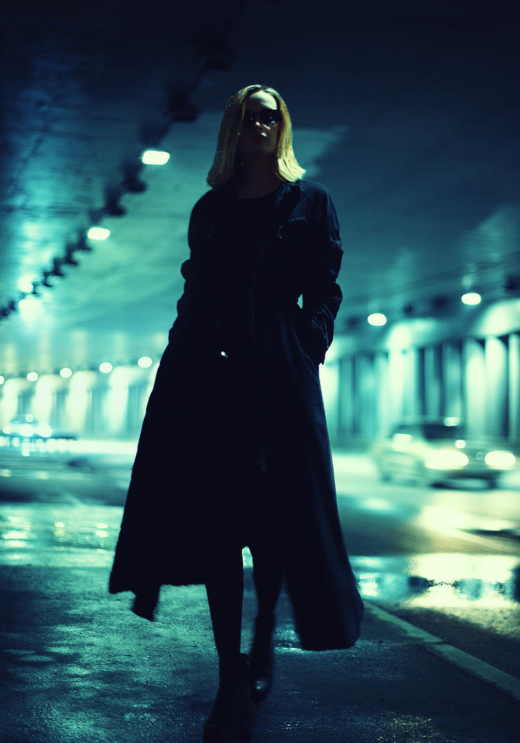 Sasha in the Tunnel by psychiatrique