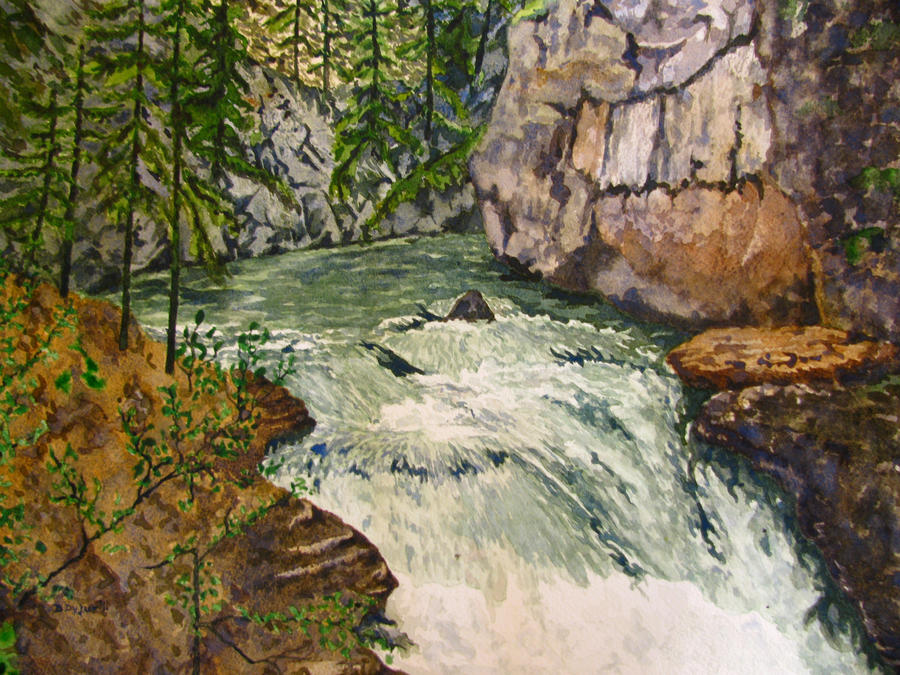 Johnston Canyon 1 by ddyjur