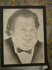 Chris Farley by HUTCH-A-PALUZA