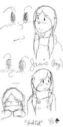 Jamie Peters Sketches by Choco-la-te
