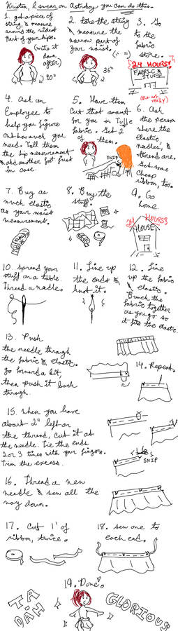Sewing Tutorial For Kristen