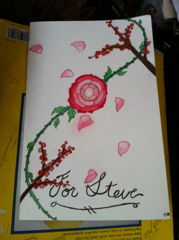 Steve's Valentine Card (Completed) by Choco-la-te