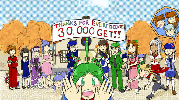 30,000 Posts