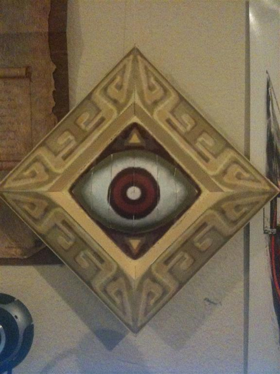 Zelda Eye Switch Papercraft by Dreamparacite