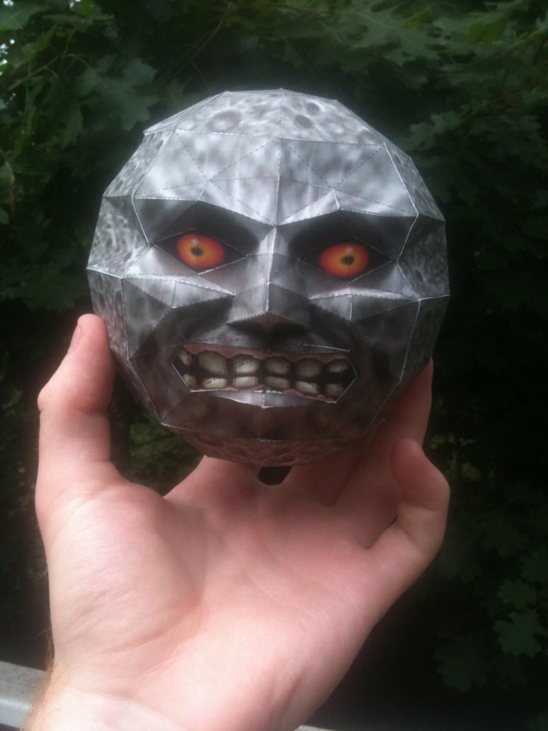 Majora's Mask Moon Papercraft by Dreamparacite