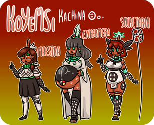 KOYEMSI robots magicos nahual Powak by ah-puch-zegno