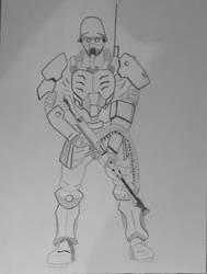 Protect Gear, Jin-roh/Kerberos Panzer Cops Saga by NESkimo88