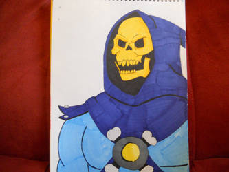 Skeletor, He-man and Masters of the Universe by NESkimo88