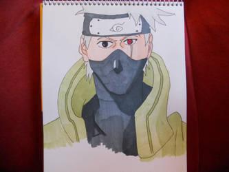 Kakashi Hatake, Naruto by NESkimo88