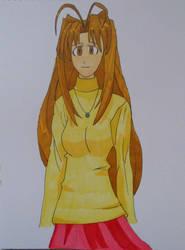 Naru Narusegawa, Love Hina by NESkimo88