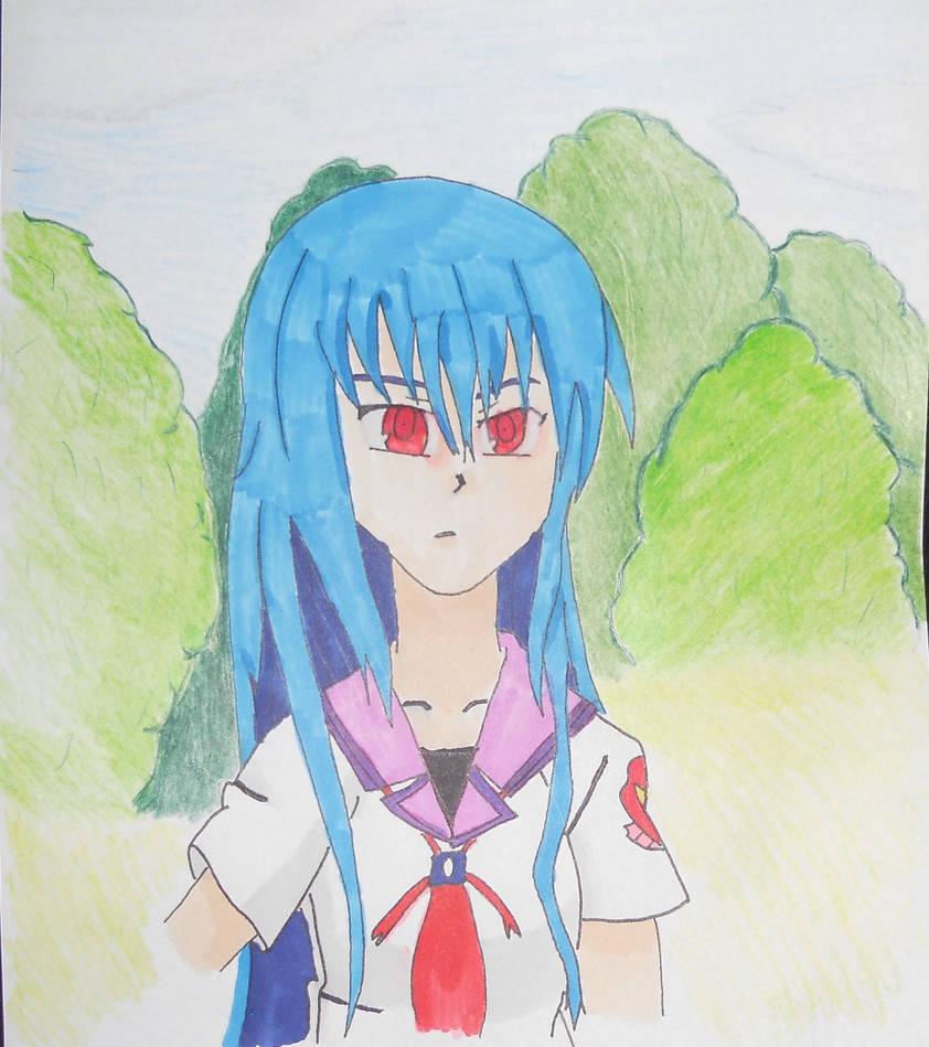 Shiina - Angel Beats! by NESkimo88