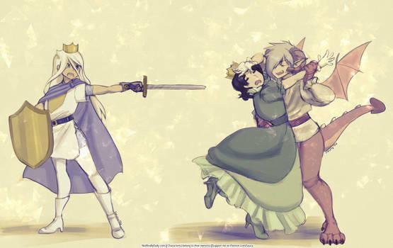 ''Let Princess Papa Go!''
