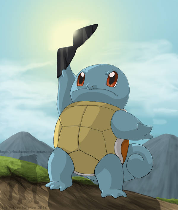 Squirtle Squirt by PrinzeBurnzo