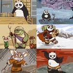 My Kung Fu Panda storyboard