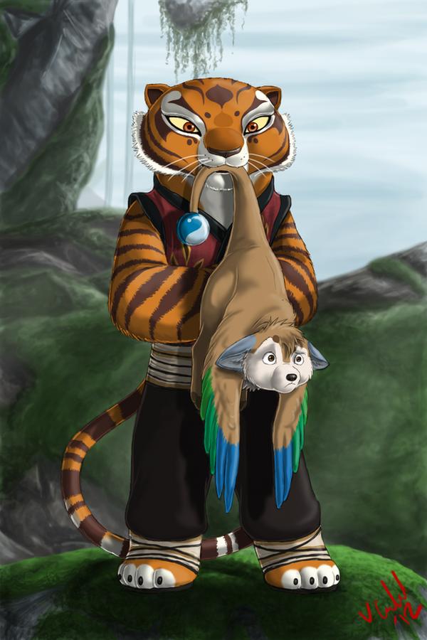 Imagenes de kung fu panda tigresa - Imagui