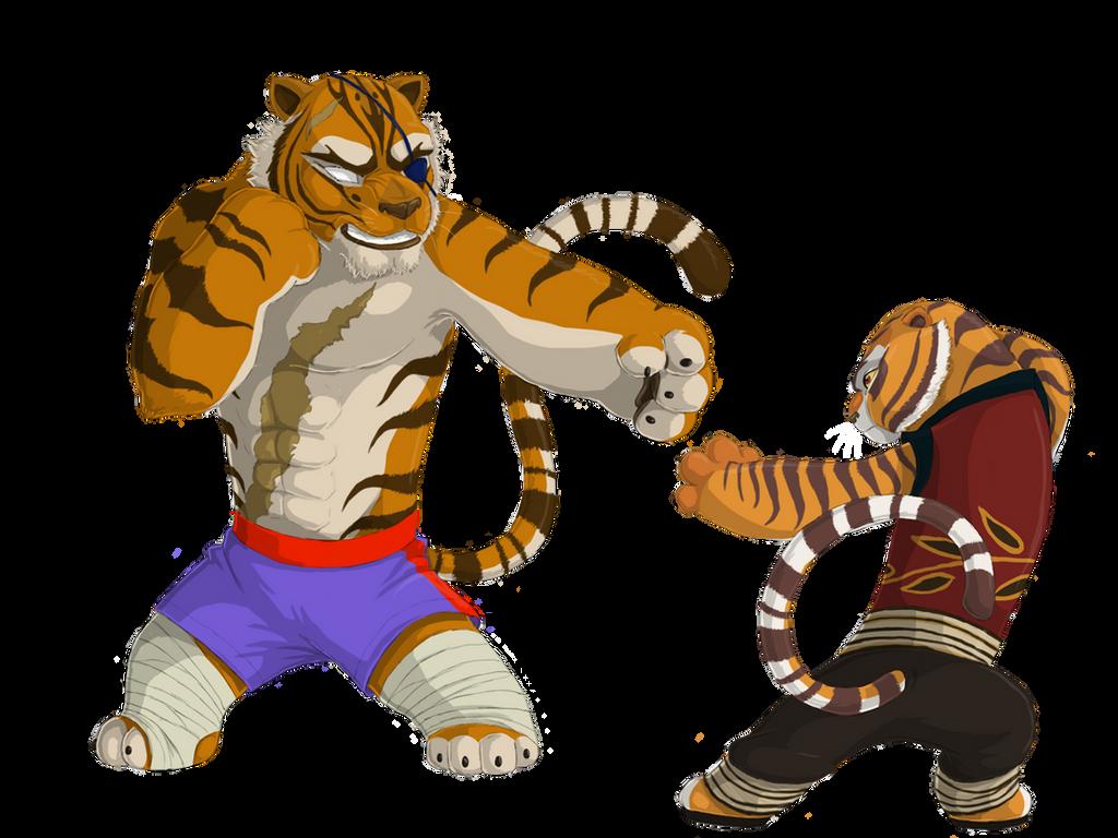 tigress and sagatprinzeburnzo on deviantart