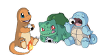 The Three Starters