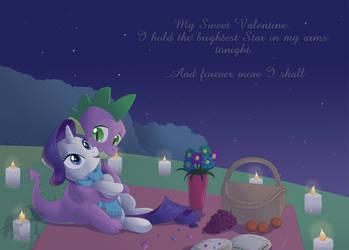 Happy Valentine's Day Spikey Wikey by PrinzeBurnzo