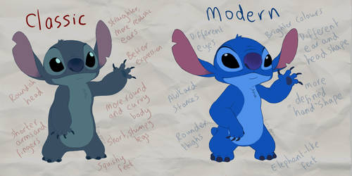 Stitch Differences by PrinzeBurnzo