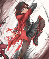[RWBY] Ruby Rose by musigaiji