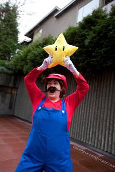 Mario Got a Star