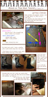 Attack on Titan - Boot Cover Tutorial by Valdrein