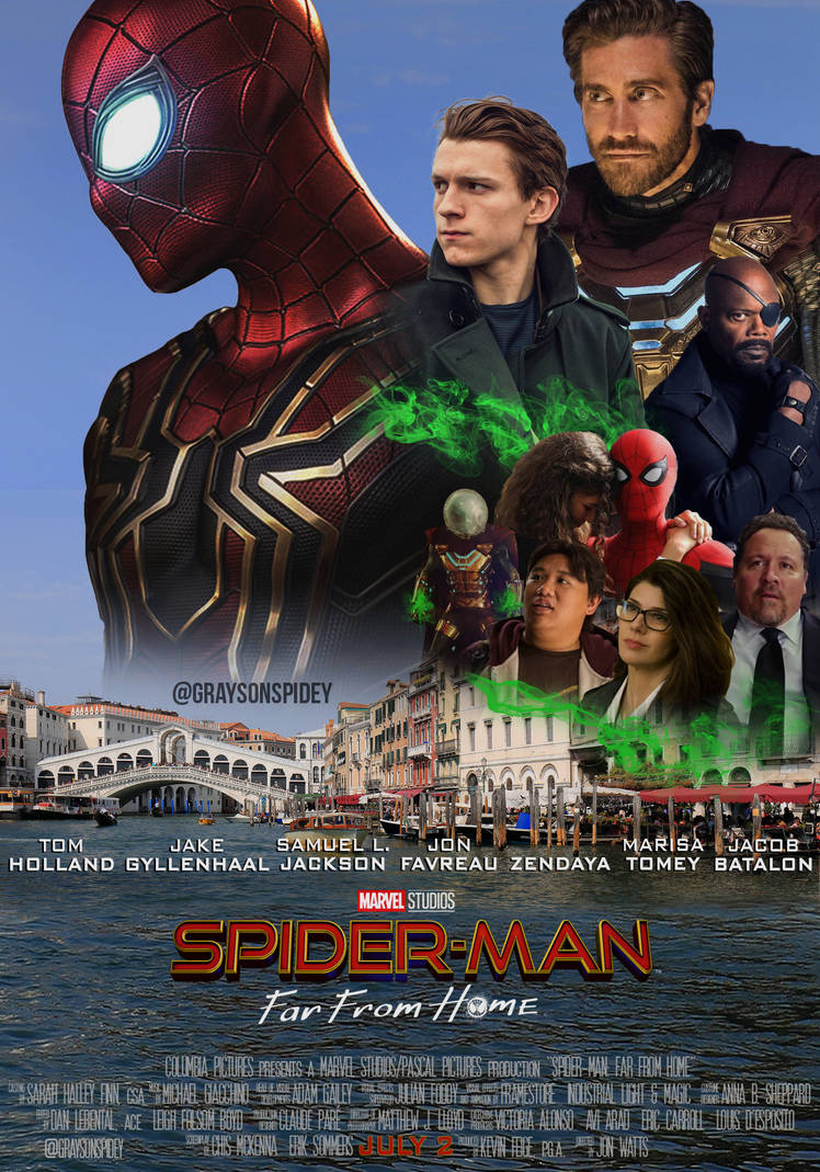 Spider-Man: Far From Home Poster by graysonspidey
