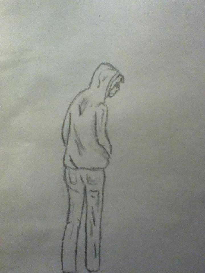 Person sketch by bobdebob97