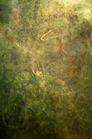 Green Gold Abstract by stock-pics-textures