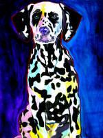 Polka Dots by dawgart