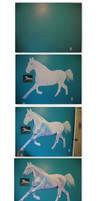 Horse Mural Progression