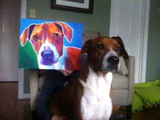 Copper And Portrait by dawgart