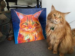 Cosmo And His Portrait