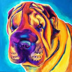 Big Man by dawgart