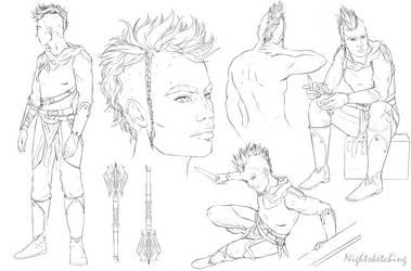 Aife Sketches 1