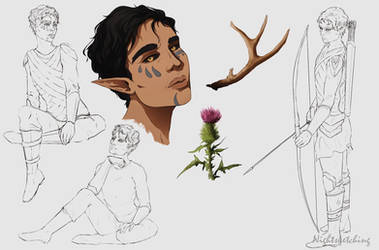 Scylla Sketches 1