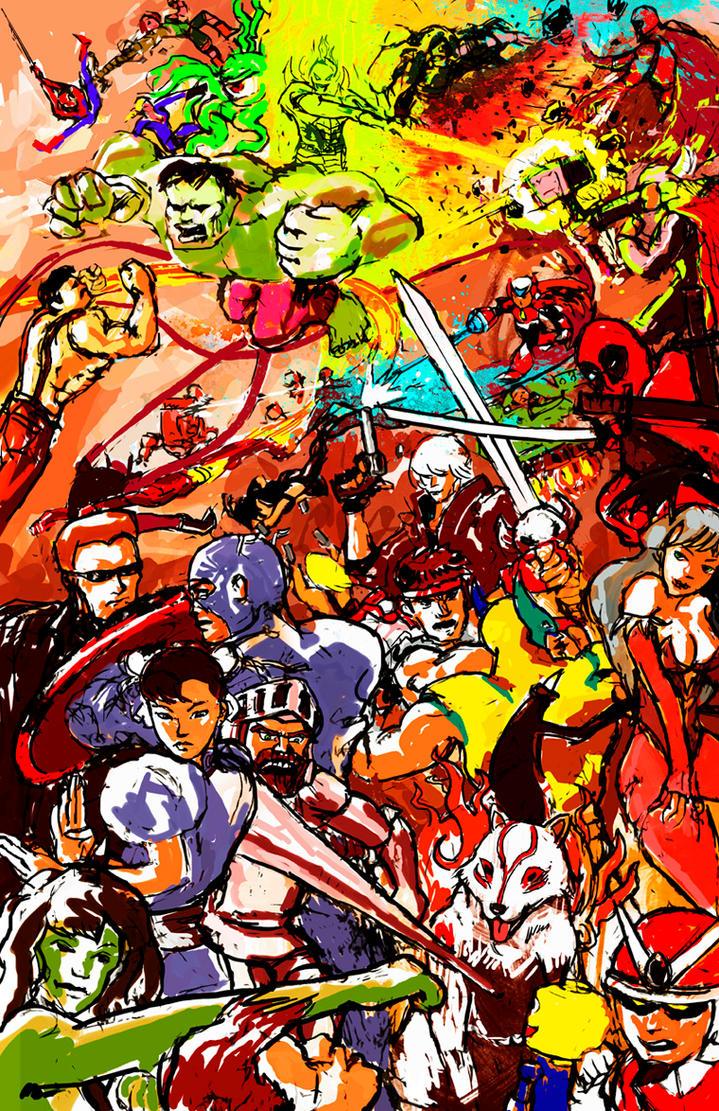 Marvel vs Capcom 3 Fan Art by InfernoArchon on DeviantArt