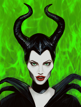 Maleficent by RonE