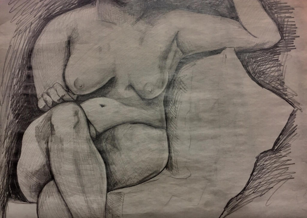 Figure Drawing by MichaelaLee97
